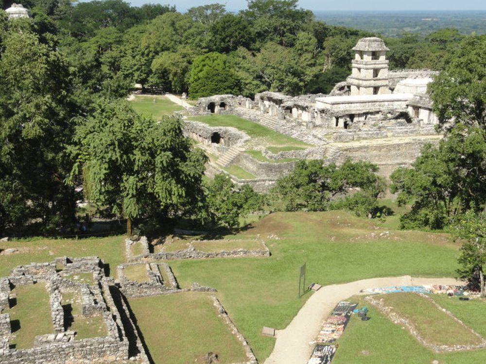 Maya- Architektur inPalenque