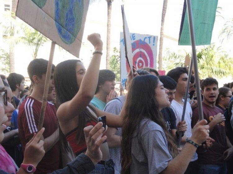 Klimastreik in Cadíz