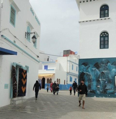 Assilah- blaue KüstenstadtMarokkos